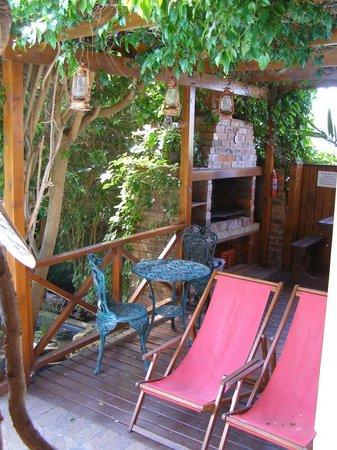 Cheriton Guest House B&B: Braii area