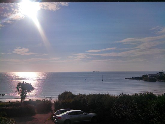 The Bay Hotel: This view every morning