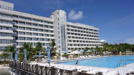 GHL Relax Hotel Sunrise : Vista desde el bar de la piscina!