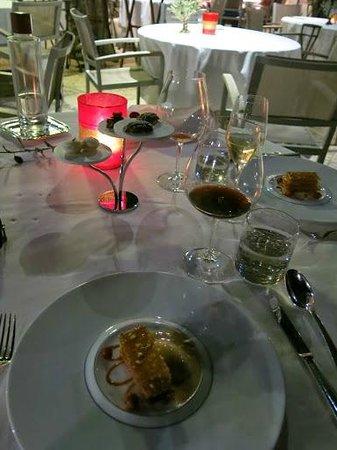 Baumaniere les Baux de Provence: Dinner