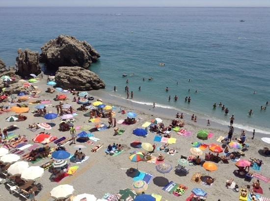 Hotel Balcon de Europa: view from our balcony