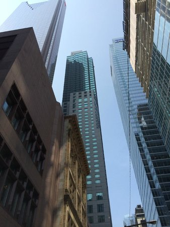 Trump International Hotel & Tower Toronto : FROM STREET LEVEL OUT FRONT