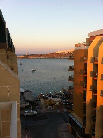 Qawra Palace Hotel: Vista dalla mia camera 860