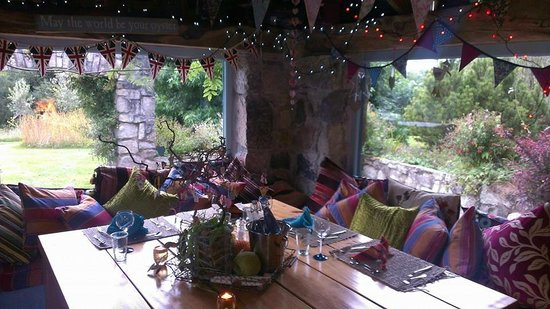 Lower Barns Boutique B&B: The Shack, a perfect dining experience