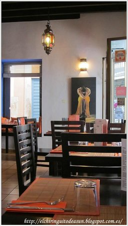 Vegetarian El Calafate: Foto del restaurante