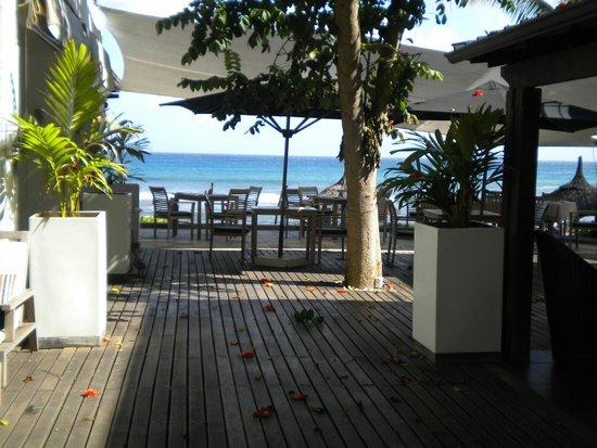 Récif Attitude : terrasse restaurant
