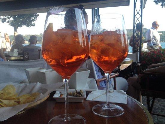 Bar Italia: Tassoni con aperol