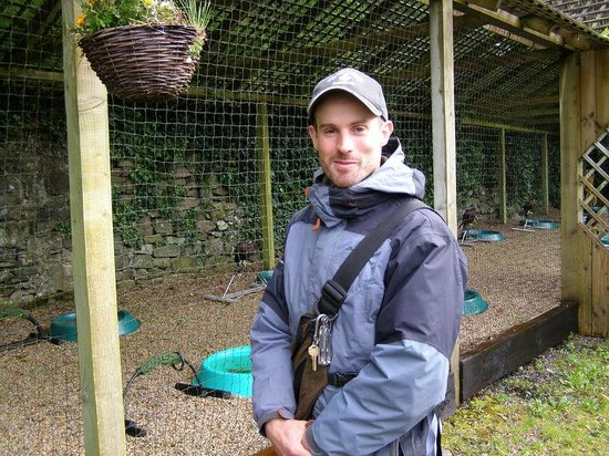 Ireland's School of Falconry: Our guide - Owen.
