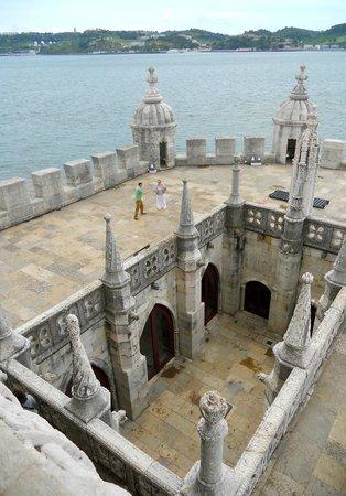 Torre de Belem: Les différents niveaux de la sentinelle