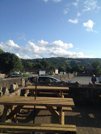 Telford Inn: the view