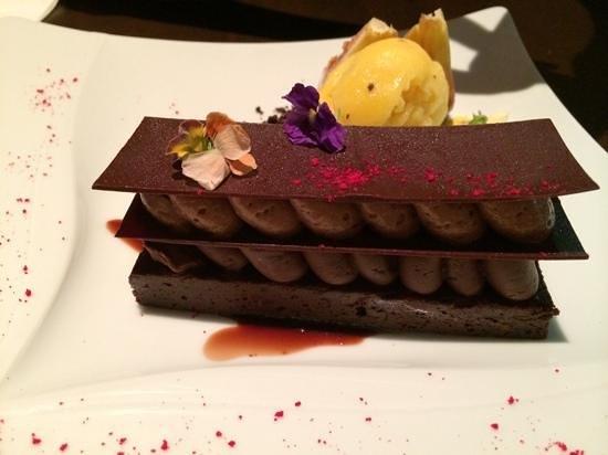 Hatraklin Bistro Meat & Wine: dessert au chocolat
