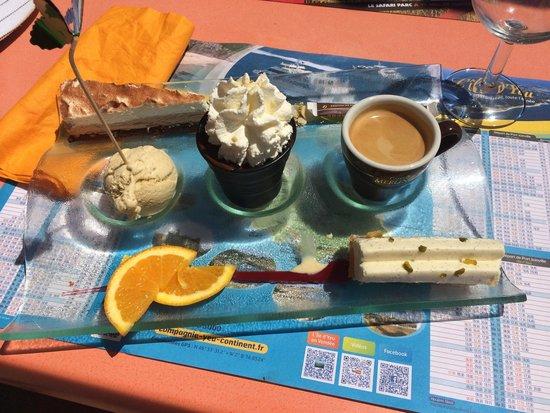 Le Colonial : Un bon café gourmand histoire de bien terminer son repas !