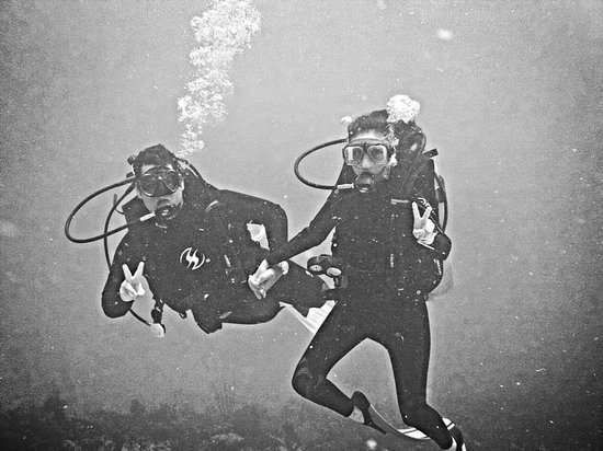 Pepe Dive Mahaual: Cuando mi novia hizo su Discover Scuba con Mahahual Dive Centre ahora apunto de iniciar su OWD