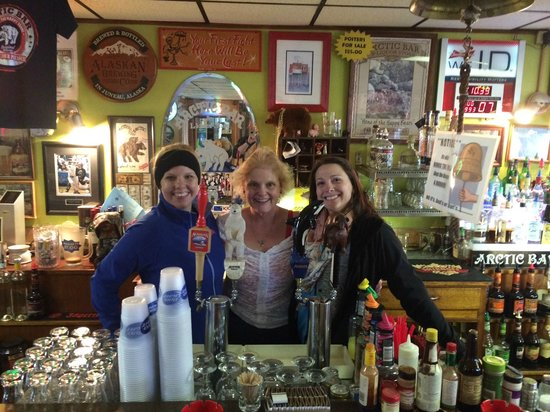 Arctic Bar: We got to meet the wonderful Paula!