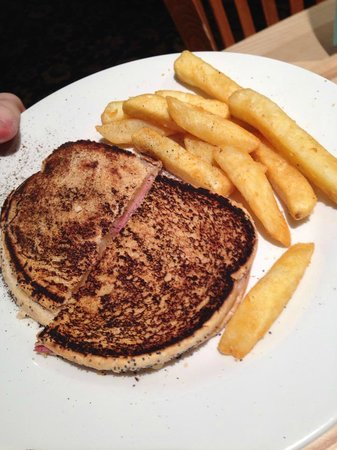 The Coliseum: Burnt toastie.
