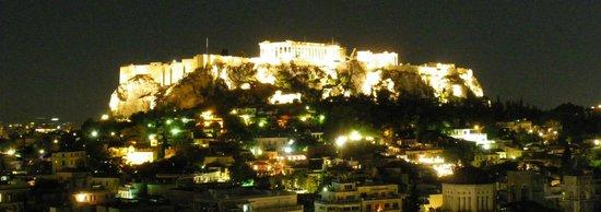 Astor Hotel Athens: Por la noche otra vez, las mejores vistas