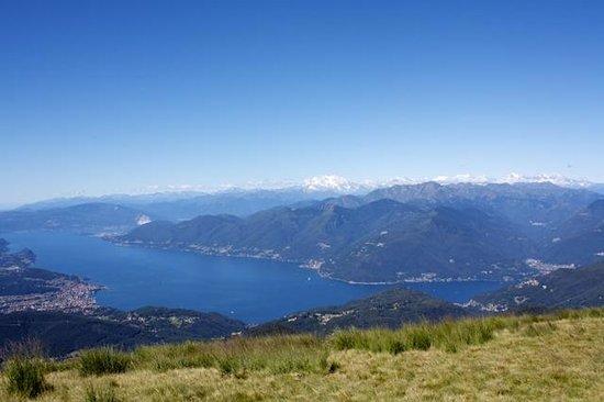 Guesthouse Arosio B&B: Aussicht von Monte Lema