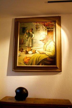 Guesthouse Arosio B&B: Kunst im Eingangsbereich