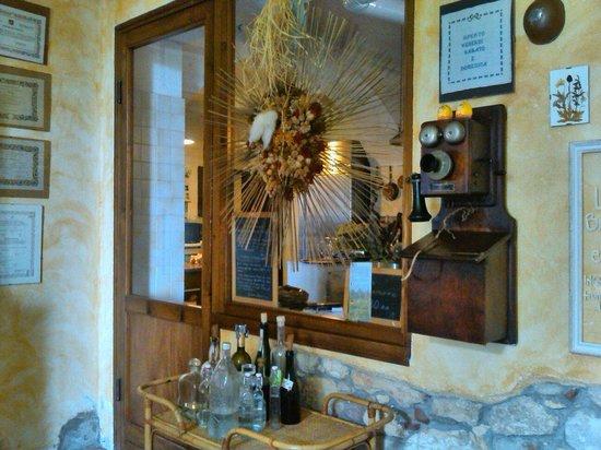Ristorante dell'Agriturismo Dongili: Cucina a vista