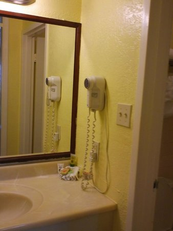 Clearwater Beach Hotel : Hair Dryer