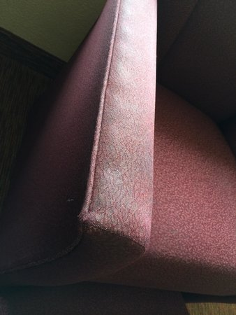 Barclay Towers Resort Hotel: Dirty furniture