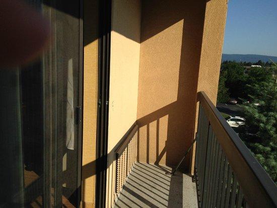 Courtyard Scranton Wilkes-Barre: Small Juliet balcony