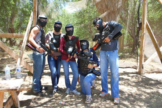Maui Paintball: In full gear