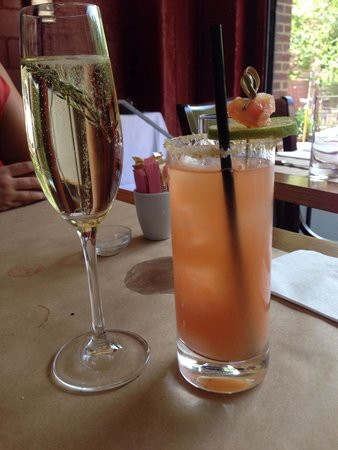 Public : St.Thyme and Salty Dog Brunch Cocktails-superb selection