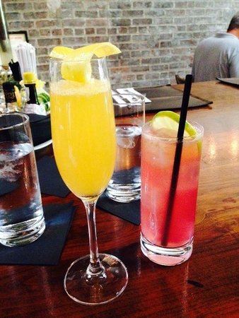 Public : Spiced Mimosa & Lavender Cocktail