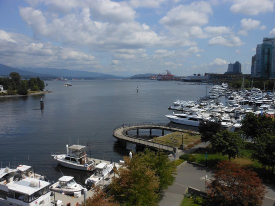 The Westin Bayshore, Vancouver: View of Coal Harbour