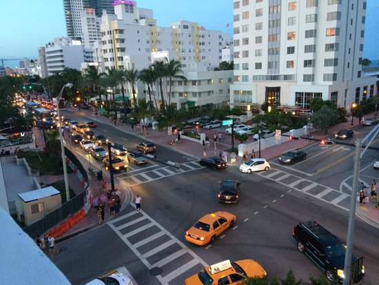 Gale South Beach : The best view of South Beach night life.