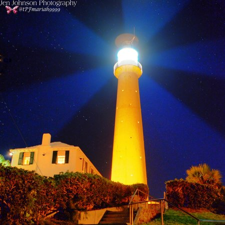 Gibbs Hill Lighthouse After Sunset Picture Of The Dining