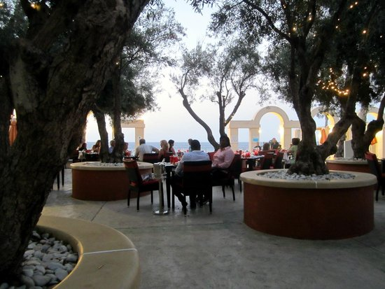 Hilton Malta: Dinner at The Gazebo
