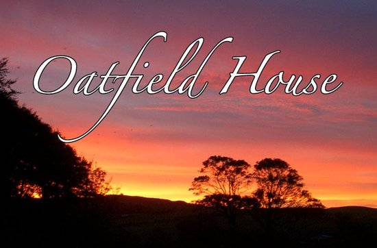 Oatfield Country House B&B: A sunset viewed from the garden