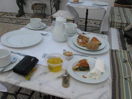 Filoxenia Cozy: desayuno