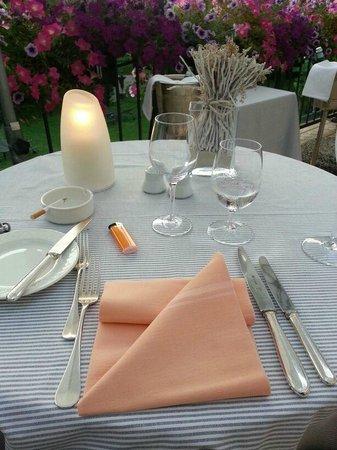 Grand Hotel Villa Castagnola: Dinner