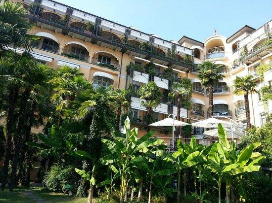 Grand Hotel Villa Castagnola: Front