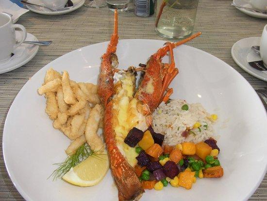 Two Oceans Restaurant: ロブスター