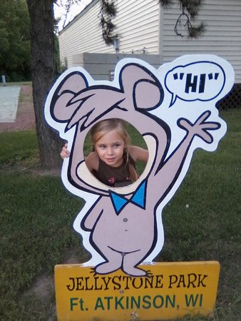 Jellystone Park of Fort Atkinson: Funny picture