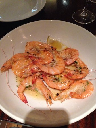 Chapman's Seafood Bar & Brasserie: Prawns