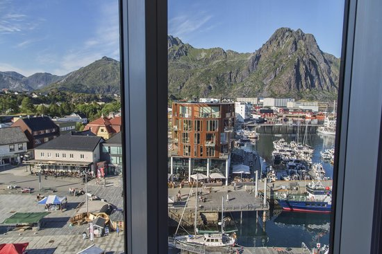 Thon Hotel Lofoten: View room 7th floor