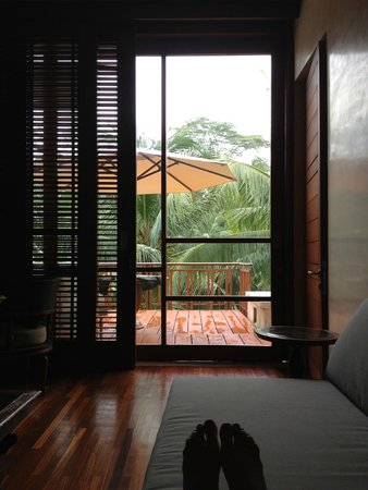 Four Seasons Resort Bali at Sayan: View from Living Room