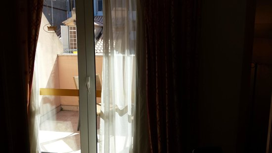 Hotel Real Palacio: balcon
