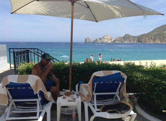 Pueblo Bonito Los Cabos: Beautiful View of the Sea of Cortez from the pool area