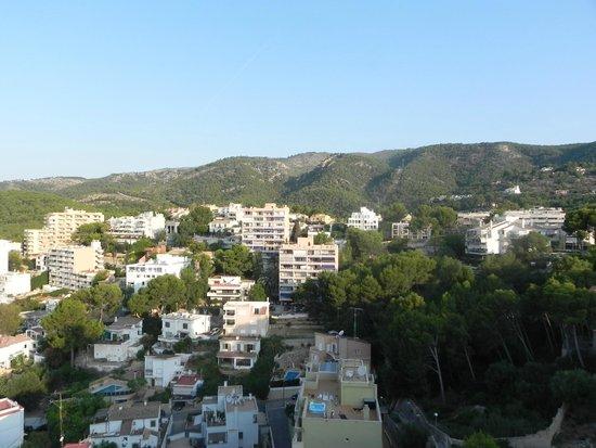 Hotel Blue Bay: Vista do quarto 720