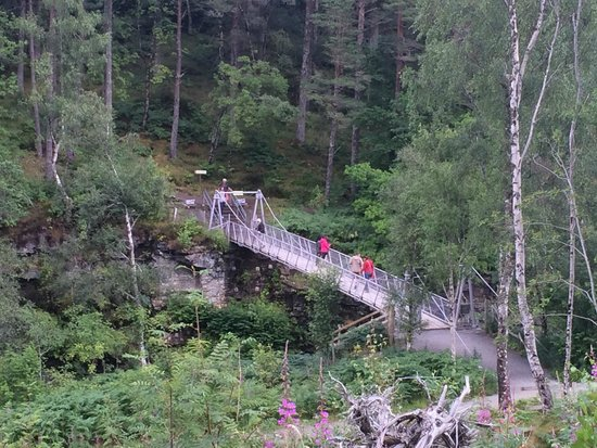 Corrieshalloch Gorge: The Bridge