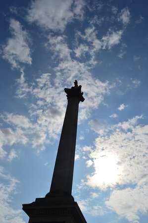 Nelson's Column: Now that's high
