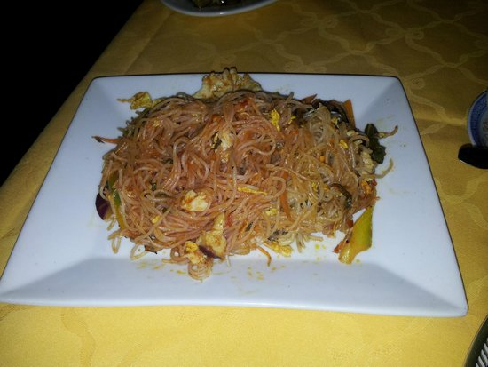 Bin Hai Ristorante Cinese: Bin Hai - spaghetti di riso thailandesi