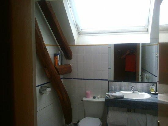 Hotel de Troyes : Baño