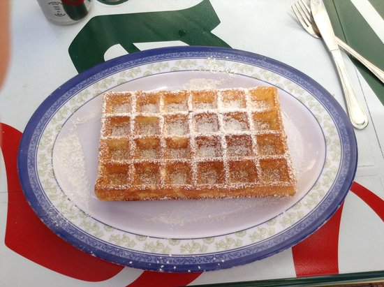 Aquashow Park Hotel : Waffle from Best Waffles ��